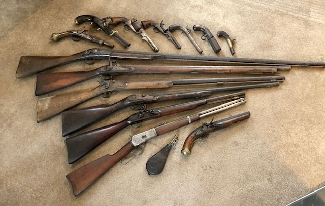 ***Just In***Antique Gun Collection