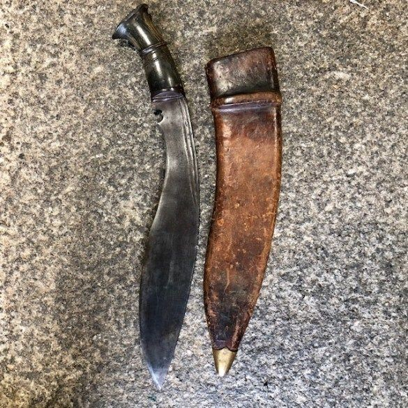 ***New In***1919 Dated Kukri and Scabbard.