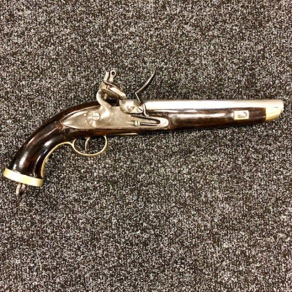 ***NOW SOLD***c1810-15 Belgian Sea Service Flintlock Pistol.