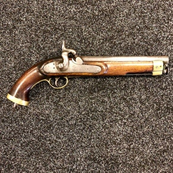 ***New In***East India Company Marked Percussion Pistol.