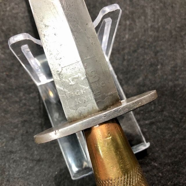 ***New In***WW2 Second Pattern Double Etched FS Dagger by 'Wilkinson'.