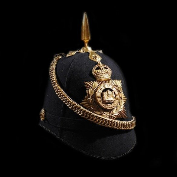 ***New In***Devonshire Regiment Helmet - Dated 1911.