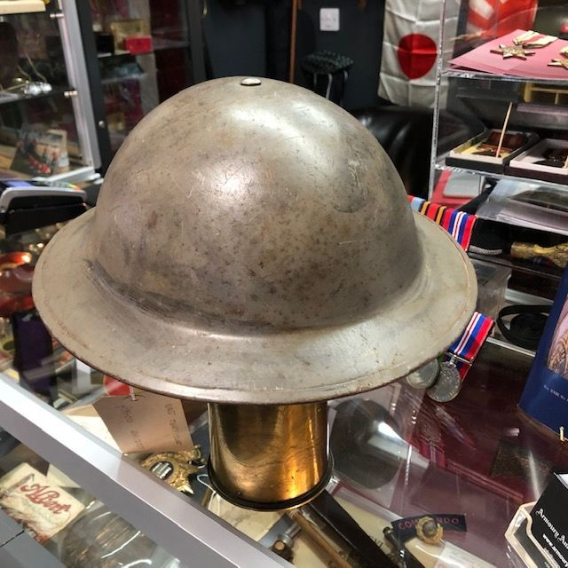 WW2 Tommy Helmet in Excellent Condition
