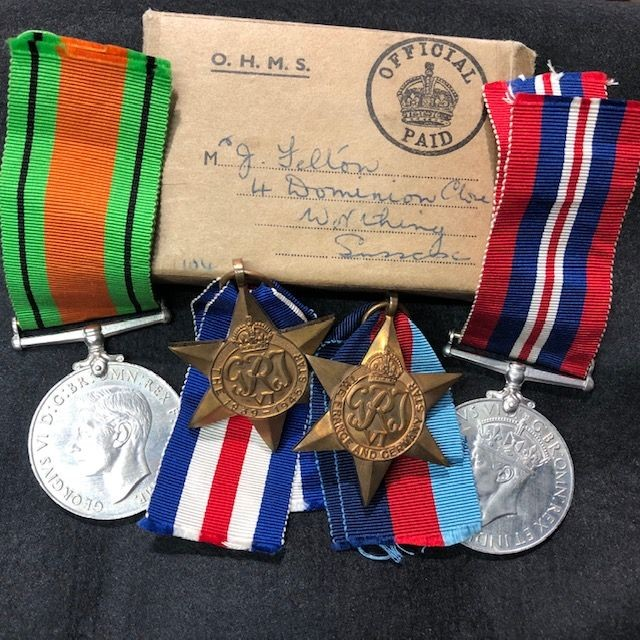New Listings - Various Medals and Medal Groups