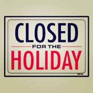 ***Closed for Holiday***