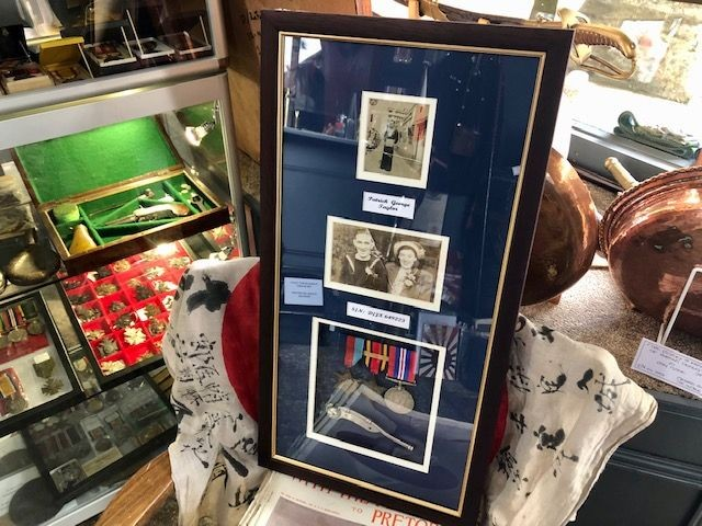 Our Medal Mounting and Framing Service.
