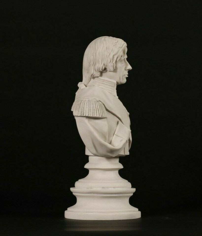 An Outstanding Marble Bust of Admiral Horatio Nelson