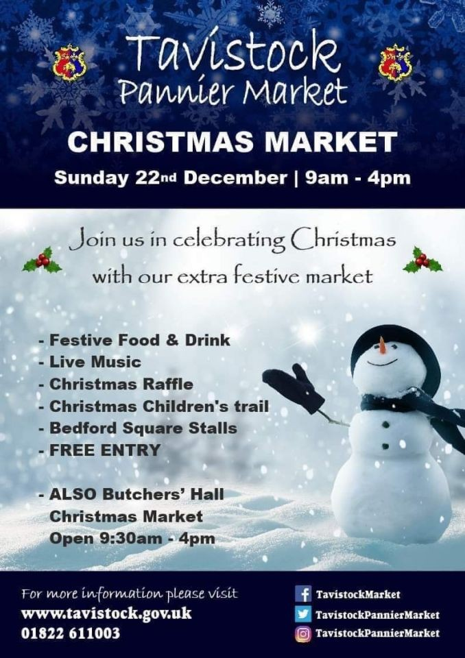 Tavistock Pannier Market Christmas Market - Come and see the Best Antique Arms and Armour in Devon!