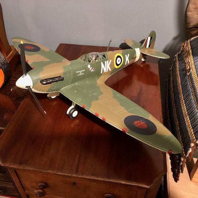21st Century 1:18 Spitfire...a rare discontinued model.