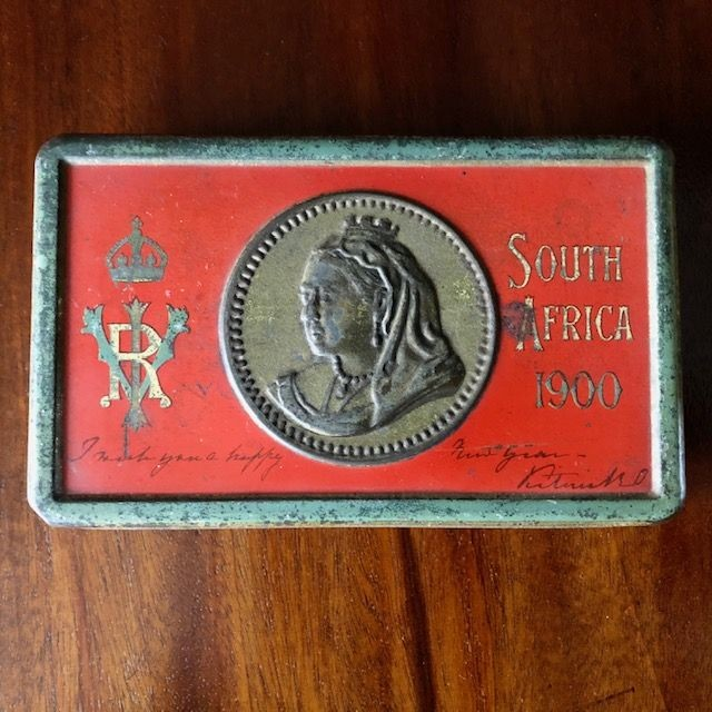 Original Boer War Soldiers Chocolate Tin