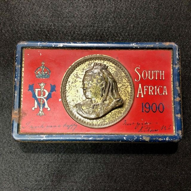 Boer War Soldiers Chocolate Tin