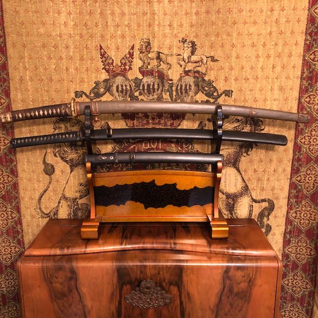 authentic antique samurai swords