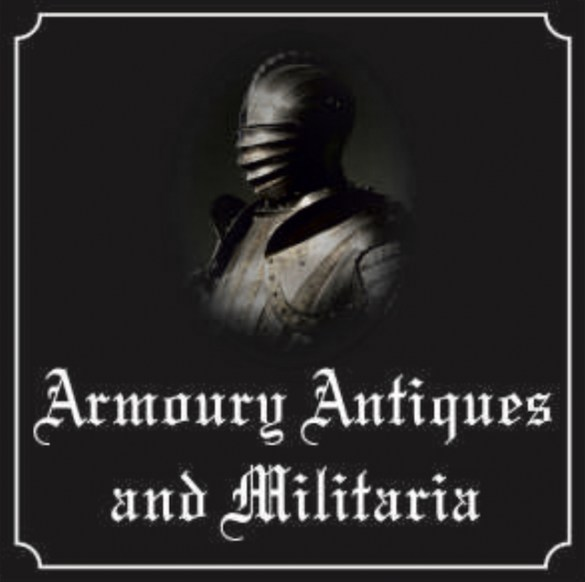 Armory Antiques and Militaria Sign631