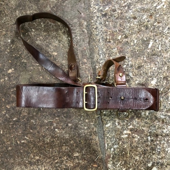 Boer War Sam Brown Belt 1