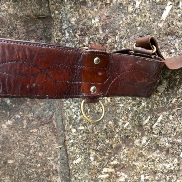 Boer War Sam Brown Belt 2