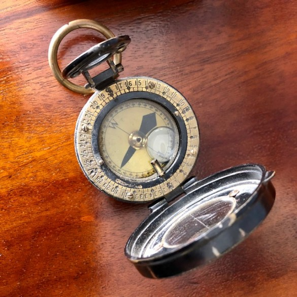 Early WW1 Officers Compass 5