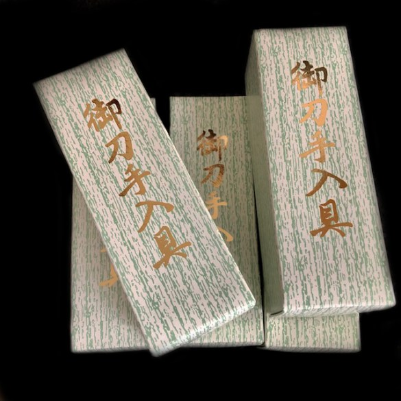 Japanese Sword Cleaning Kit 2