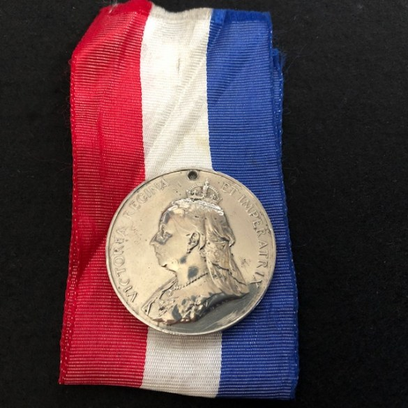 Large Queen Victoria Medal F