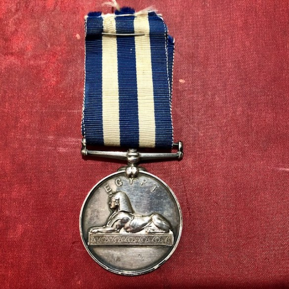 Royal Marine Light Infantry Egypt Medal 3